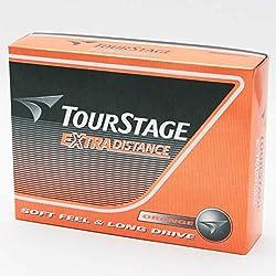 BRIDGESTONE(ブリヂストン) ゴルフボール ツアーステージ エクストラディスタンス  1ダース(12球入り) TOURSTAGE