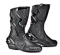 Sidi Cobra Goretex Motorcycle Bootsブラック( Moreサイズオプション) US13/EU48 ブラック MOT-SIS-COG-BKBK-48