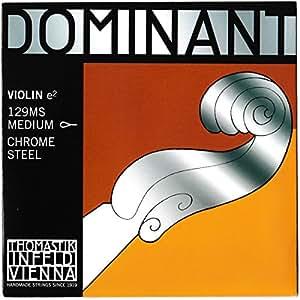 Dominant ドミナント バイオリン バラ弦 E129MS クロムスチール(ループエンド)