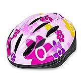 ヘルメット 子供用 EletecPro 自転車 ヘルメット キッズ 幼児 軽量 スポーツヘルメット 45~54cm 通学 スキー 登山 バイク スケートボードなど適用 (ピンク)