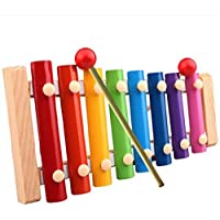 XUANOU Baby Kid Musical Toys Xylophone Wisdom Development Wooden Instrument Educational Toys