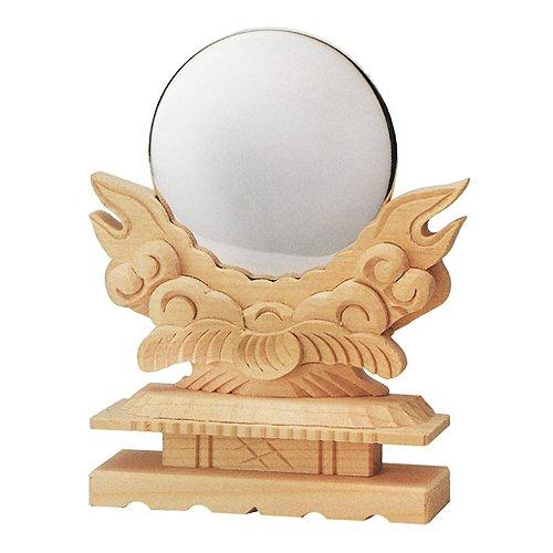 神棚・神具『神鏡・雲水彫 2寸』