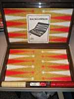 TOURNAMENT BACKGAMMON Classic Game of Fast Moving Strategy for Two Players