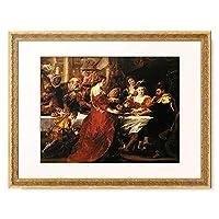 ピーテル・パウル・ルーベンス Peter Paul Rubens 「Herod's feast.」 額装アート作品