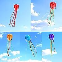 fidgetkute 5点4 M Frameless Octopus ShapeインフレータブルSingle Line Kite Kids Easy To Fly