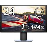 Dell ゲーミングモニター 24インチ 1ms/144Hz/フルHD/TN 非光沢/FreeSync/DP,HDMIx2/高さ調整 回転/プレミアムパ?#24237;?年保証 S2419HGF