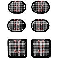 Coomatec スレンダートーン対応 EMS互換交換パッド スレンダートーン 交換パッド3枚*2セット (正面用 2枚 + 脇腹用4枚)