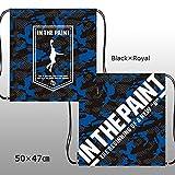 インザペイント IN THE PAINT 昇華ナップサック ITP1605HD (ブラック/ロイヤル)