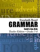 Standards Based Grammar, Grades 7-8