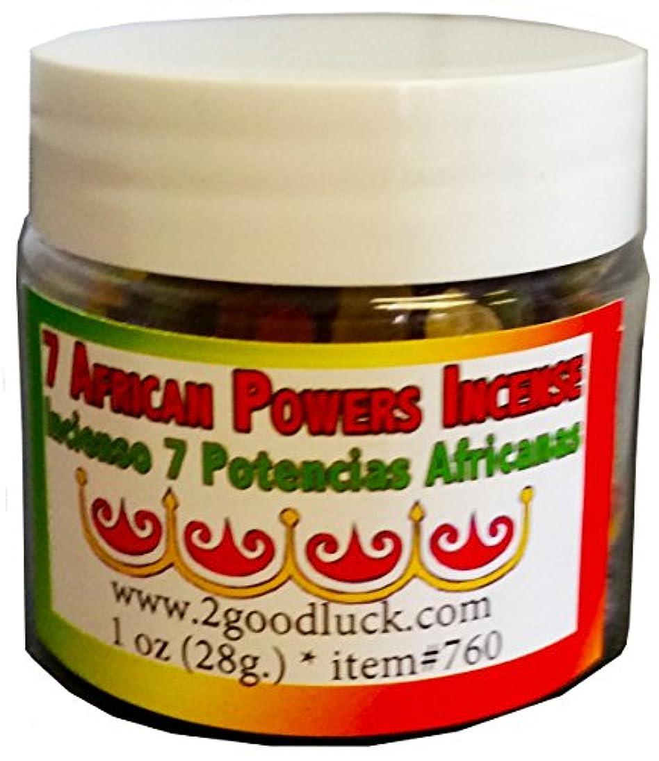 威する手首王位 7 African Powers