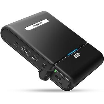 ポータブル電源 RAVPower 27000mAh / 100W 予備電源 パソコン バッテリー (AC出力 + USB 2ポート + Type-Cポート) MacBook/ノート PC 等対応(緊急・災害時バックアップ用電源) RP-PB055