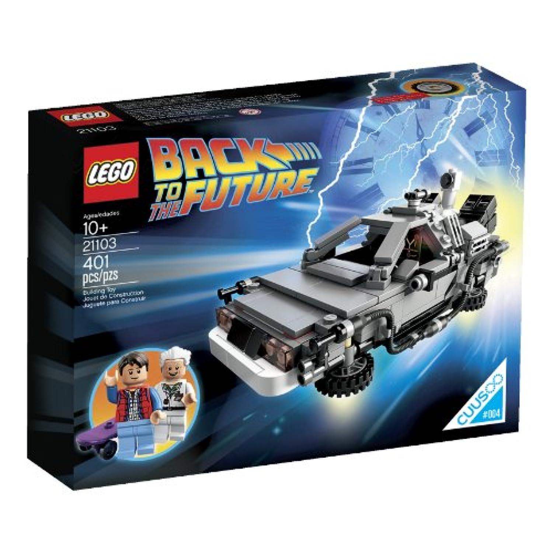 レゴ (LEGO) クーソー デロリアン?タイムマシン 21103