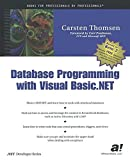 Database Programming With Vb.Net