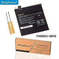 KingSener 新しい PA5053U PA5053U-1BRS 交換用ノートパソコンバッテリー Toshiba Excite 用 10 Series Tablet PC PA5053 バッテリー 3.7V 25WH/6600mAh 2年間の無料保証付き