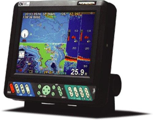 HONDEX(ホンデックス) 8.4型GPS魚探 HE-81GPII-Di (GPSアンテナ内臓モデル)