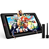 XP-PEN Artist15.6 Pro 15.6 Inch Drawing Pen Display Graphics Monitor Full-Laminated Technology Drawing Monitor with Tilt Function and Red Dial (8192 Levels Pen Pressure, 120% sRGB)