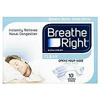 Breathe Right Nasal Srips, Small/Medium - Clear by Breathe Right
