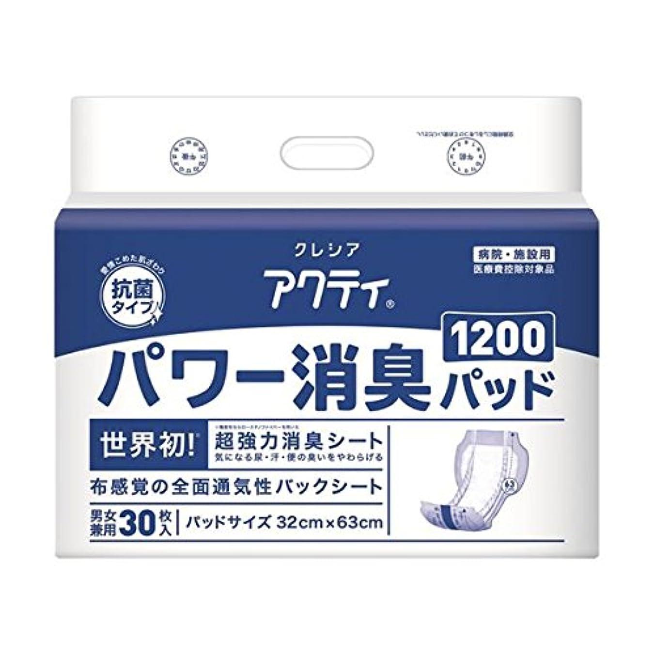 展望台感情探す(業務用2セット) 日本製紙クレシア アクティ パワー消臭パッド1200 30枚 ダイエット 健康 衛生用品 おむつ パンツ 14067381 [並行輸入品]