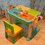 ビルテーブルおもちゃ多機能学習テーブル男の子と女の子の組み立てパズル子供の日プレゼント
