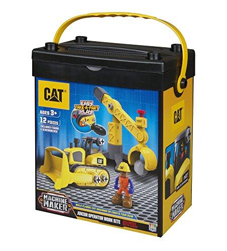 CAT(R) マシーンメーカー 組み立て入門セット ブルドーザー&バケット C80912 NIKKO KYOSHO EGG