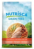 DOGSWELL 842426 Nutrisca Chicken and Chick Pea Food for Pets, 28-Pound by Dogswell