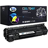 Cool Toner 1 Pack 2,500 Pages High Yield Black Compatible 85A CE285A CE285X CE285 Toner Cartridge for Laserjet Pro P1102W P1102 P1100 M1212NF MFP M1212NFW MFP MF3010 M1210 M1132 Printer