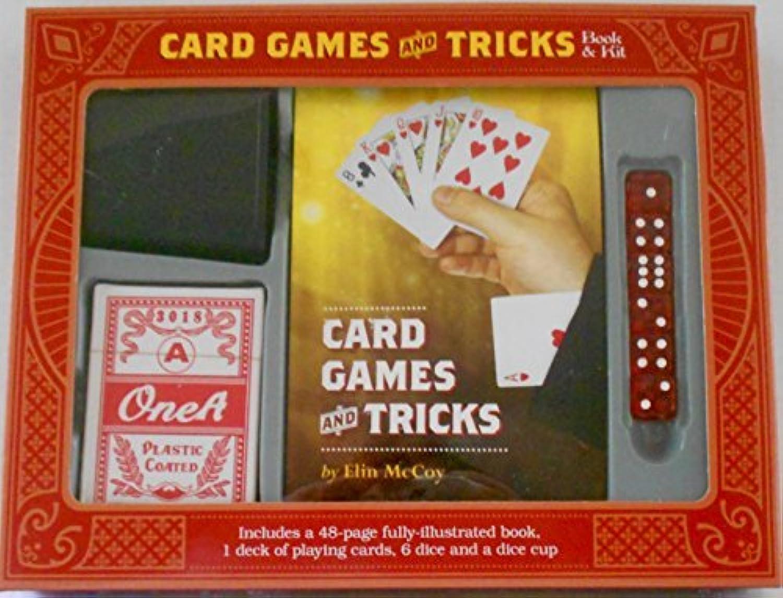 Card Games and Tricks - Book & Kit [並行輸入品]