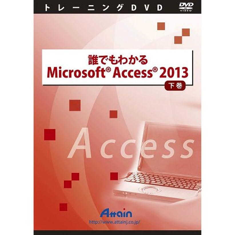 職業マニフェスト原稿誰でもわかるMicrosoft Access 2013 下巻