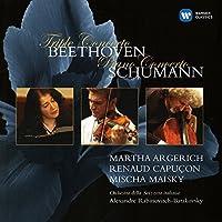 ベートーヴェン:三重協奏曲、シューマン:ピアノ協奏曲