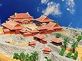首里城 正殿 お城 模型 ジオラマ完成品 B4サイズ