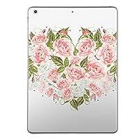 第1世代 iPad Pro 9.7 inch インチ 共通 スキンシール apple アップル アイパッド プロ A1673 A1674 A1675 タブレット tablet シール ステッカー ケース 保護シール 背面 人気 単品 おしゃれ 花 葉 ハート 013473