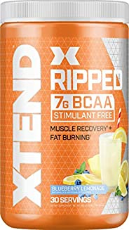 Scivation Xtend Ripped BCAA Powder, Blueberry Lemonade, 30 Servings