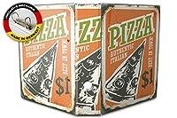 バインダー 2 Ring Binder Lever Arch Folder A4 printed Pizza