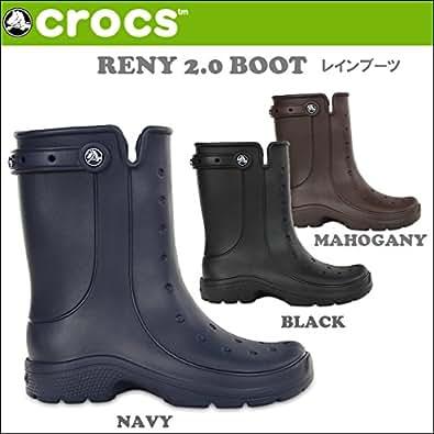 (クロックス)CROCS レインブーツRENY 2.0 BOOT/メンズ クロックス/レディース クロックス/国内正規品 crs-052 (28cm, NAVY)