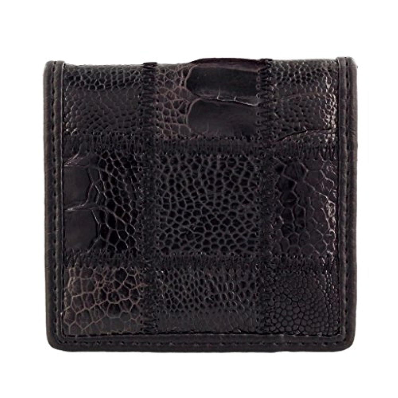 ロダニア コインケース レディース メンズ カイマンワニ革 ブラック OJN0088PA LBK [並行輸入品]