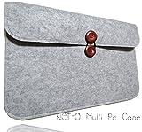 [NET-O] Mac Book Pro 13 インチ マルチケース 対応 PC 32.8×22.8×2.3cm以下なら収納可能 インナーケース Macbook Air/ MacBook Pro Retina/ウルトラブック/ネットブック用 プロテクターケース グレー (グレー)