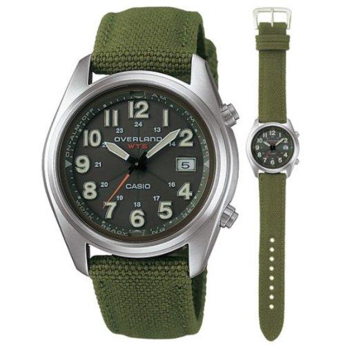 CASIO (カシオ) 腕時計 OVERLAND オーバーランド ソーラー電波時計 OVW-100BJ-3AJF