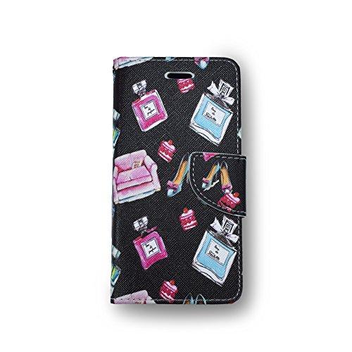 EUROKOHAKU [ユーロコハク] iphone7 iphone8 人気 手帳型 ハイヒール 香...