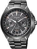 [シチズン]CITIZEN 腕時計 ATTESA アテッサ Eco-Drive SATELLITE-WAVE エコ・ドライブ 40タイムゾーン対応 サテライトウェーブダイレクトフライト針表示式 衛星電波受信 CC1085-52E メンズ