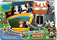 Disney Mickey Mouse Mickey's Dairy Farm Exclusive Playset [並行輸入品]