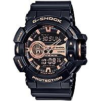 Casio G-Shock World Time Ana-Digi Mens Watch GA400GB-1A4CR