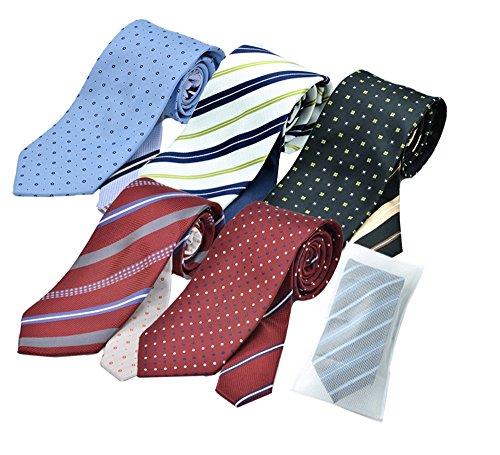 (メンズ ウーノ)men's uno ジャパンブランド ua2 クレリックネクタイ5本 セット ビジネス 洗える ウォッシャブル 洗濯ネット付き