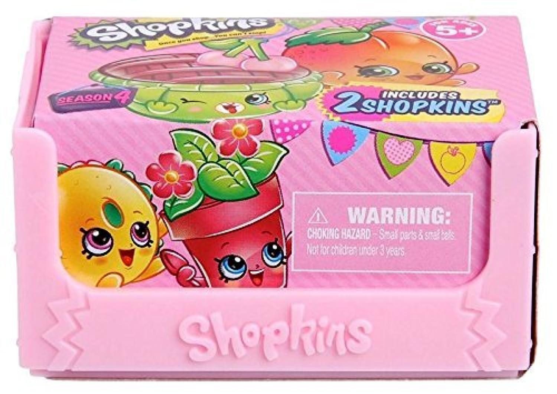 Shopkins Season 5 Gift Set: Blind Basket 2-Pack, Strawberry Kiss Flavored Lip Balm & Sticker Kit! [並行輸入品]