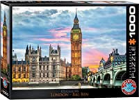 ジグソーパズル 1000ピース ユーログラフィックス ロンドン・ビッグ・ベン 6000-0764