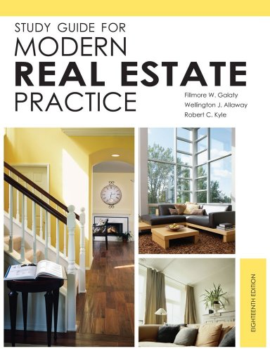 Download Study Guide for Modern Real Estate Practice, 18th Edition 1427789452