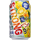【季節限定】キリン 氷結ストロング ゆずレモン [ チューハイ 350ml×24本 ]