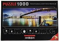 1000ピース ジグソーパズル Perre Group ブルックリン橋 New York Brooklyn Bridge 40×86cm 3185