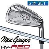 マグレガー MACTEC アイアンセット マックテック NV-F NV-RED アイアン NSプロ 950GH(6本セット) S