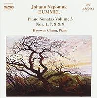Hummel: Piano Sonatas Volume 3 - Nos. 1, 7, 8 & 9