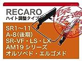 【右用、左用どちらをご希望か連絡必須】[レカロ]ACR.GSR50/55W エスティマ(3ポジション)用シートレール